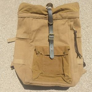 C.C Filson Roll Top Backpack Made In USA